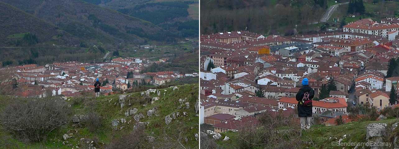 Ezcaray desde la dolina