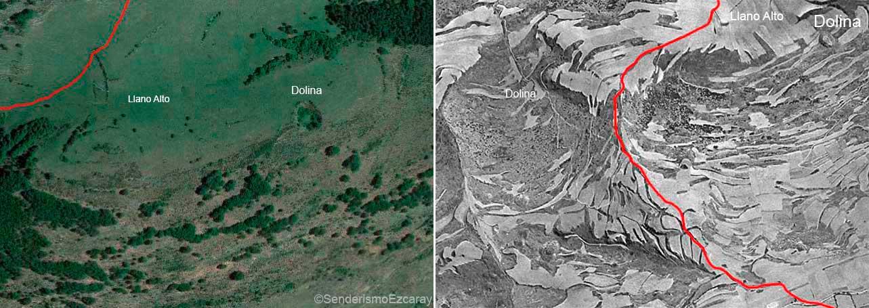 Imagen aérea de la Dolina del Llano Alto. 2015.1955